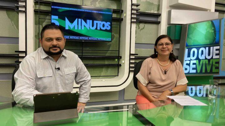 Ramona Rodríguez del CNU y Roberto Zuñiga en 15 Minutos.