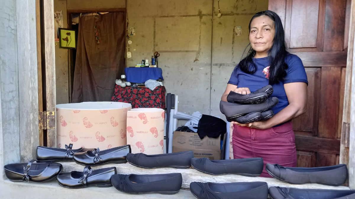 Victoria García, propietaria del negocio.