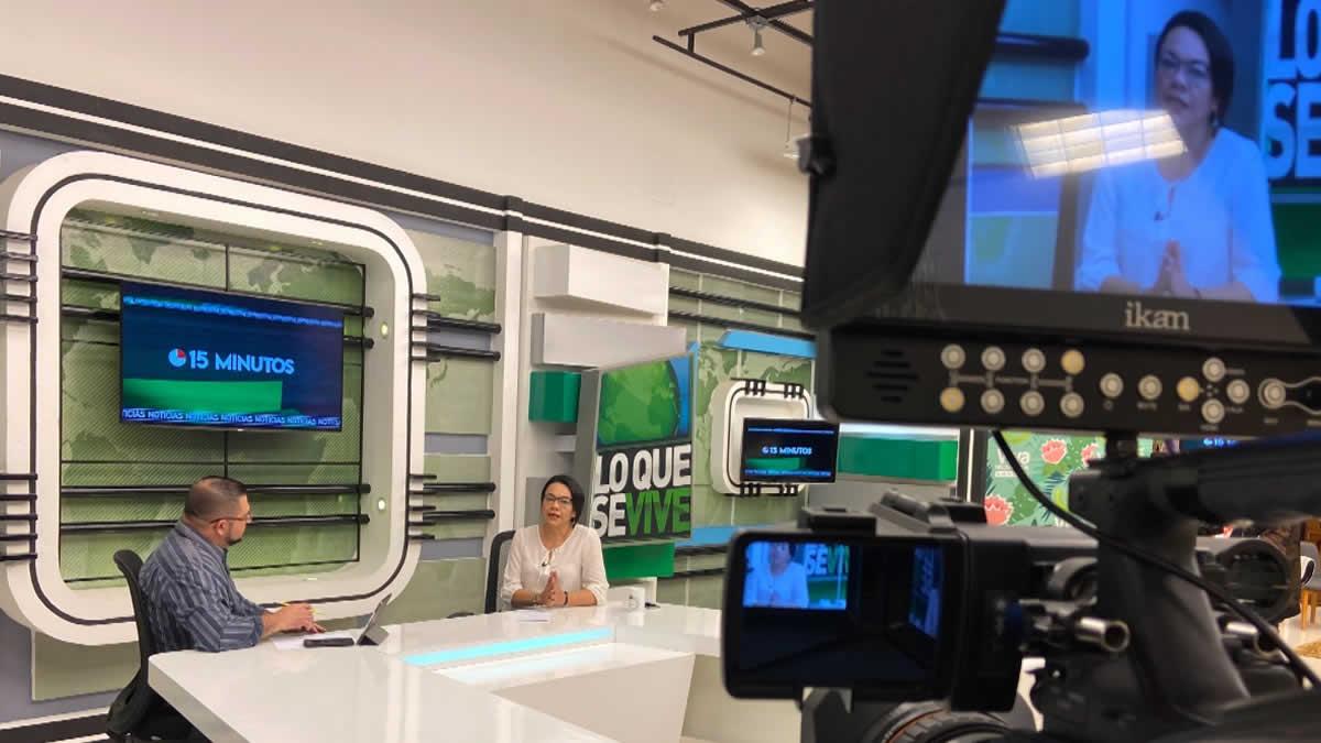 Entrevista a Loyda Barreda en 15 Minutos