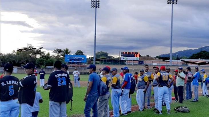 Estadio de béisbol de Jalapa ya tiene pizarra electrónica
