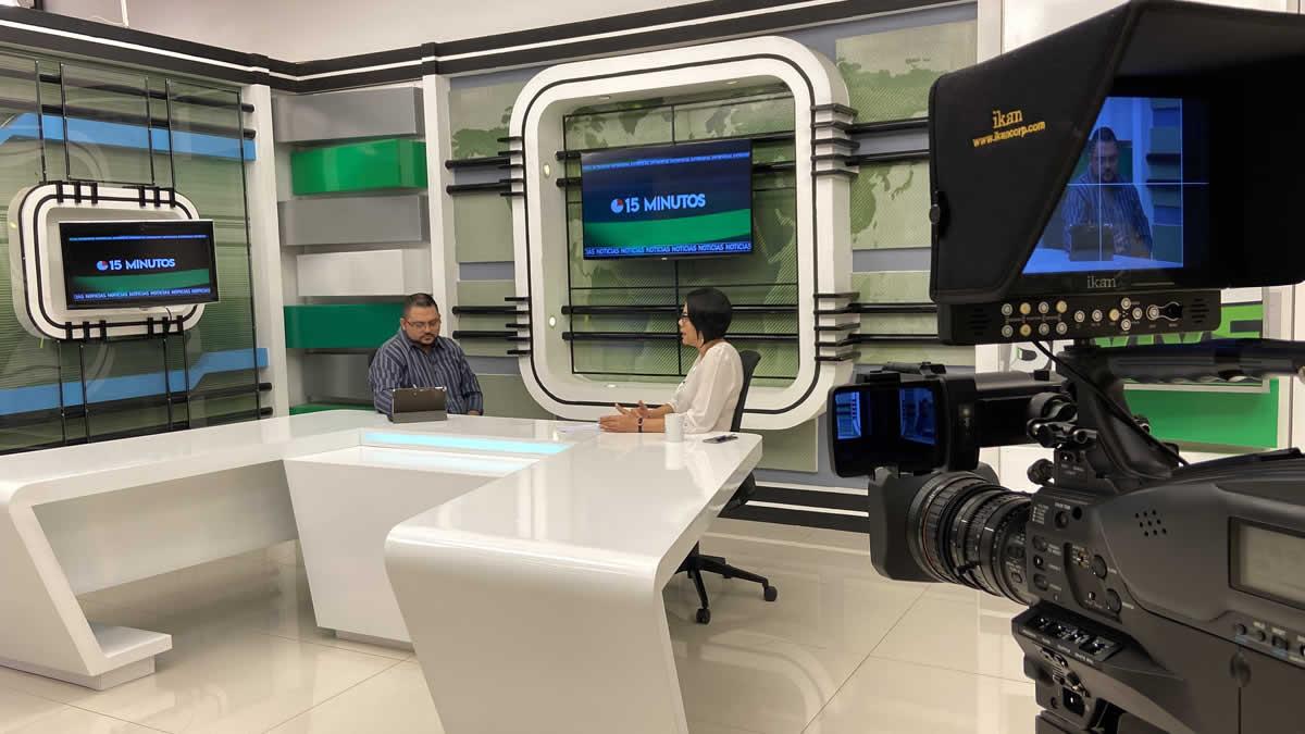 Loyda Barreda titular del INATEC }en 15 Minutos