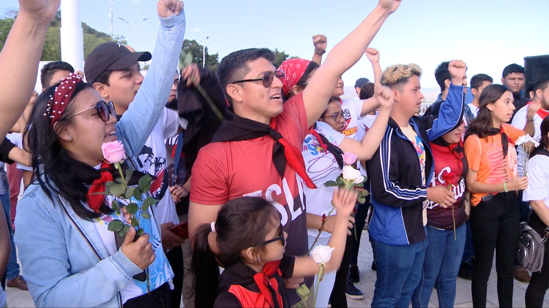 Juventud Sandinista destaca legado patriótico del General Augusto C. Sandino